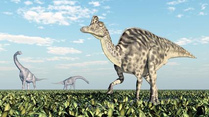Brachiosaurus und Velafrons