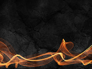 fire lines dark fantasy frame abstract background paper textured grunge