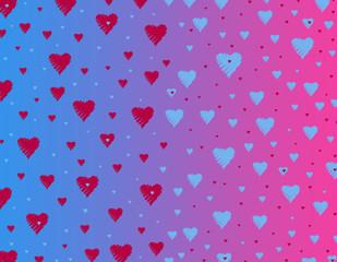 Love background. Valentine's Day. Love