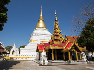Wat Phra Kaew Don Tao at Lampang