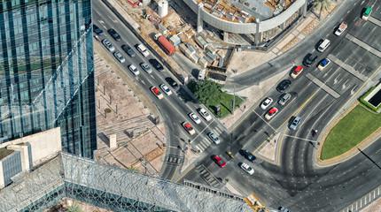 Dubai traffic, UAE