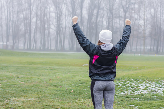 Fitness Woman Success Concept