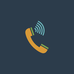 Sound from the handset - phone icon