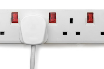 plug in plug bar isolated