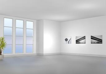 Leerer Raum / Wohnzimmer