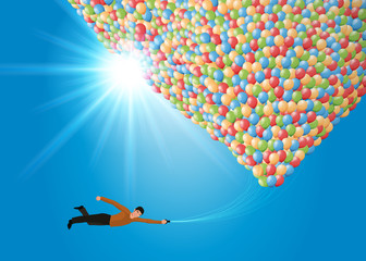 Ballons de Baudruche - Rêve - S'envoler