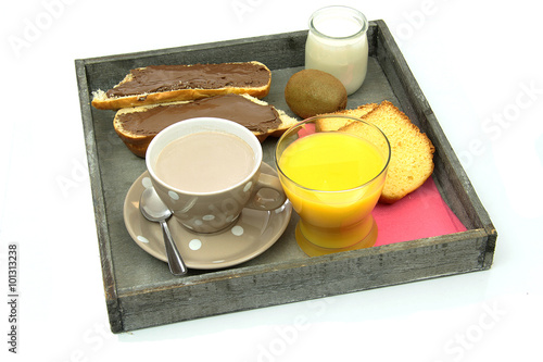 Plateau petit d jeuner 28012016 stock photo and royalty - Plateau petit dejeuner ikea ...