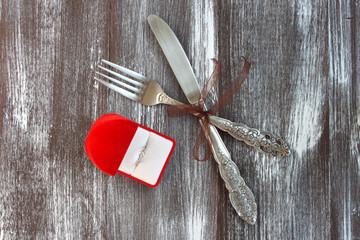Valentine's Day Romantic Dinner Meal