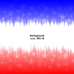 Presidents day background united states stars