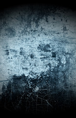 Dark Grungy Wall Background