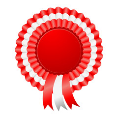 USA patriotic award ribbon rosettes