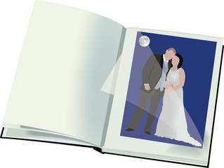 album fotografico nozze