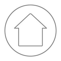 House line icon.