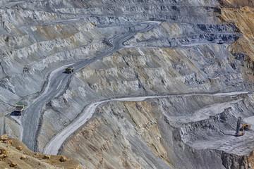 Cooper mine - Open pit 1