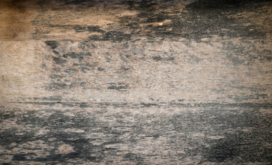 Close up dirty wood background texture