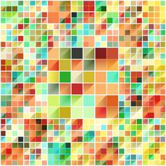 Beautiful colorful grid