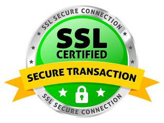 SSL Certified Secure Transaction Icon