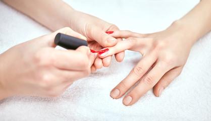 Women's manicure, Nail Polish, Hand Care