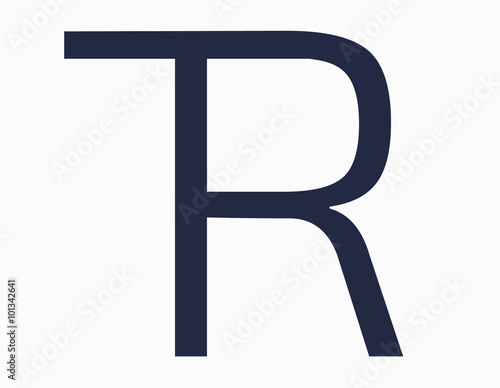 Design Logo Words T And R