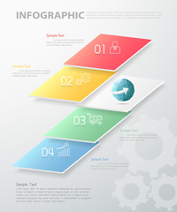 Abstract infographic template. can be used for workflow, layout, diagram