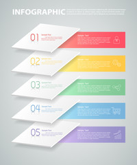 Overlay infographic template. can be used for workflow, layout, diagram