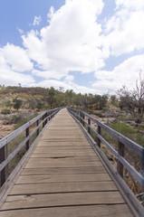 Swan river walkway vert
