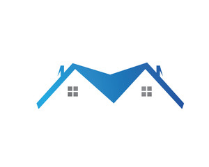 logo house roof company