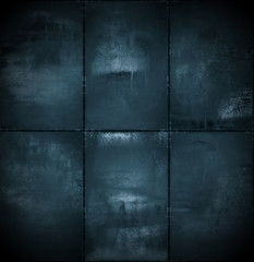 Extra Dark Cyanotype Background
