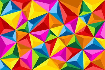 Polygones 3D Couleurs