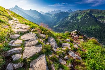 Tatras mountains at sunrise - fototapety na wymiar