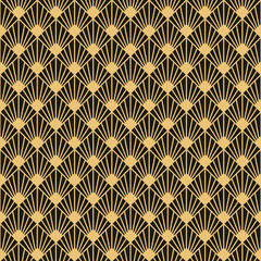 Art Deco style seamless pattern texture