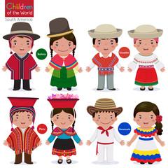 Children of the world-Bolivia-Ecuador-Peru-Venezuela