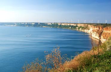 Seafront city of Balchik in Bulgaria