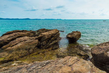 Reef beach in Thailand.
