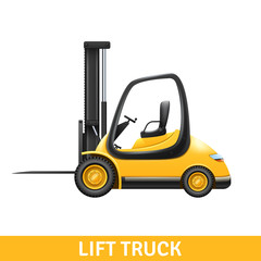 Lift Truck Illustration