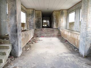 沖縄の廃墟