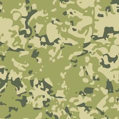 Green military camouflage khaki background. Fashion militaristic wallpaper.