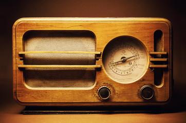 Old Wooden Radio Design