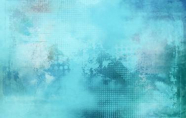 abstrakt texturen raster hellblau Wall mural