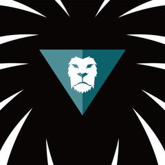 lion head template