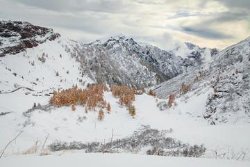 Marmolada from passo Giau, Dolomites, Italy