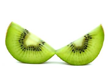 Kiwi (isolated object on white background)