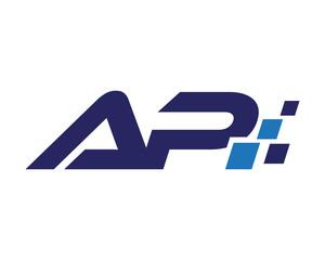 AP digital letter logo