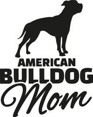 American Bulldog Mom