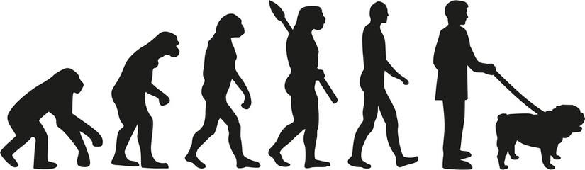English bulldog evolution