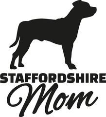 Staffordshire Terrier Mom