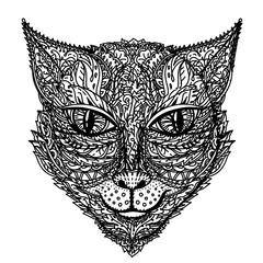 Zentangle stylized cat