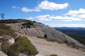 Bald Rock National Park, NSW, Australia (largest granite dom in Australia)