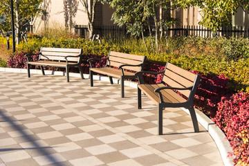 bench at yokohama