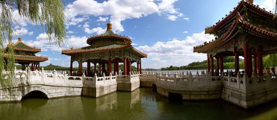 Poster Peking Five-Dragon Pavilions in Beihai Park